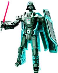 Фигурка Star Wars - Transformers:Darth Vader/TIE Advanced X1 Starfighter