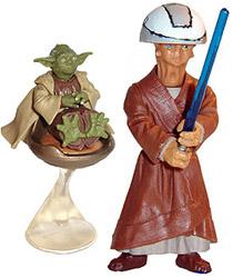 Фигурка Star Wars - Yoda & Chian Ep-2