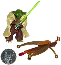 Star Wars - Yoda with Coin