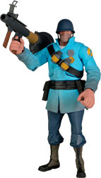 Team Fortress 2 - Soldier (Blue)�