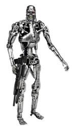 Terminator - T-800 Endoskeleton Box