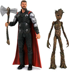 Фигурка The Avengers: Infinity War - Thor & Groot