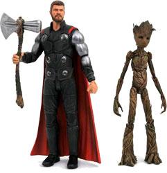 Фигурка The Avengers: Infinity War - Thor & Groot