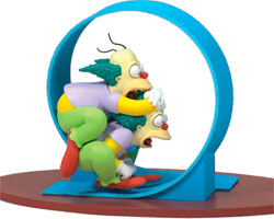 Фигурка The Simpsons - Clown Homer and Krusty