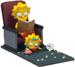 Фигурка The Simpsons Movie - Lisa & Maggie