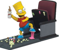 Фигурка The Simpsons Movie - Mayhem Bart