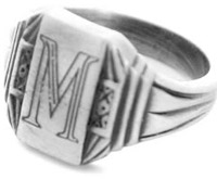 The Twilight - Edward Mason Ring
