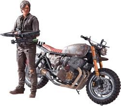 Фигурка The Walking Dead - Daryl Dixon with Bike