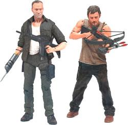 Фигурка The Walking Dead Series 2 - Daryl and Merle Dixon (2 Pack)